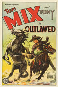 "Movie Posters:Western, Outlawed (FBO, 1929). One Sheet (27"" X 41"")...."