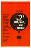 "Movie Posters:Comedy, It's a Mad, Mad, Mad, Mad World (United Artists, 1963). One Sheet(27"" X 41"")...."