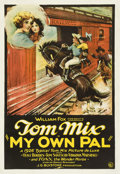 "Movie Posters:Western, My Own Pal (Fox, 1926). One Sheet (27"" X 41"")...."