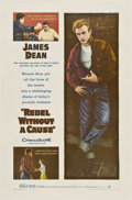 """Movie Posters:Drama, Rebel Without a Cause (Warner Brothers, 1955). One Sheet (27"""" X41"""")...."""