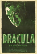 "Movie Posters:Horror, Dracula (Universal, R-1938). One Sheet (27"" X 41"")...."