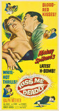 "Movie Posters:Film Noir, Kiss Me Deadly (United Artists, 1955). Three Sheet (41"" X 81"")...."