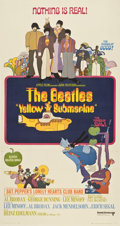 "Movie Posters:Animated, Yellow Submarine (United Artists, 1968). Three Sheet (41"" X81"")...."