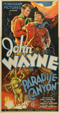 "Movie Posters:Western, Paradise Canyon (Monogram, 1935). Three Sheet (41"" X 81"")...."