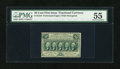 Fractional Currency:First Issue, Fr. 1310 50c First Issue PMG About Uncirculated 55....