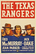 """Movie Posters:Western, The Texas Rangers (Paramount, 1936). One Sheet (27"""" X 41"""")...."""