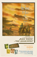 "Movie Posters:Western, The Searchers (Warner Brothers, 1956). One Sheet (27"" X 41"")...."