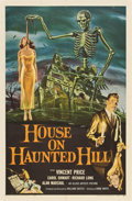 "Movie Posters:Horror, House on Haunted Hill (Allied Artists, 1959). One Sheet (27"" X41"")...."