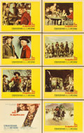 "Movie Posters:Western, The Magnificent Seven (United Artists, 1960). Lobby Card Set of 8(11"" X 14"").... (Total: 8 Item)"