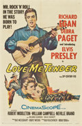 "Movie Posters:Elvis Presley, Love Me Tender (20th Century Fox, 1956). One Sheet (27"" X 41"")...."
