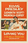 """Movie Posters:Elvis Presley, Loving You (Paramount, 1957). One Sheet (27"""" X 41"""")...."""