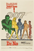 "Movie Posters:James Bond, Dr. No (United Artists, 1962). One Sheet (27"" X 41"")...."