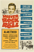 "Movie Posters:Rock and Roll, Mister Rock and Roll (Paramount, 1957). One Sheet (27"" X 41"")...."