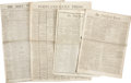 Miscellaneous:Ephemera, [Abraham Lincoln] Newspaper Archive Relating to the Assassinationof Abraham Lincoln....