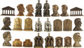 Political:3D & Other Display (1896-present), Abraham Lincoln: Large Grouping of Various Bookends.... (Total: 24 Items)