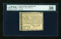Colonial Notes:Rhode Island, Rhode Island July 2, 1780 $8 PMG About Uncirculated 50....