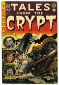 Golden Age (1938-1955):Horror, Tales From the Crypt #45 (EC, 1954) Condition: VG+....