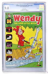 Wendy, the Good Little Witch #78 File Copy (Harvey, 1973) CGC NM/MT 9.8 White pages