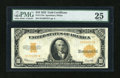 Large Size:Gold Certificates, Fr. 1173a $10 1922 Gold Certificate PMG Very Fine 25....
