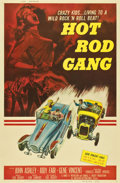 "Movie Posters:Cult Classic, Hot Rod Gang (American International, 1958). Poster (40"" X 60"")...."