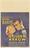 "Movie Posters:Comedy, The Golden Arrow (Warner Brothers, 1936). Window Card (14"" X22"")...."