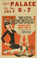 "Movie Posters:Comedy, Naughty But Nice (First National, 1927). Window Card (14"" X22"")...."