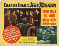 "Charlie Chan at the Wax Museum (20th Century Fox, 1940). Half Sheet (22"" X 28"") Style B"