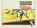 "Movie Posters:Hitchcock, North by Northwest (MGM, R-1966). Half Sheet (22"" X 28"")...."
