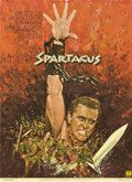 "Movie Posters:Adventure, Spartacus (Universal, R-1970s). French Petite (21.5"" X 29.5"")...."