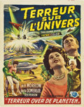 "Movie Posters:Science Fiction, This Island Earth (Universal International, 1955). Belgian (14"" X22"")...."