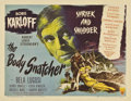 "Movie Posters:Horror, The Body Snatcher (RKO, 1945). Half Sheet (22"" X 28"") Style B...."