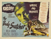 "The Body Snatcher (RKO, 1945). Half Sheet (22"" X 28"") Style B"