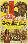 """Movie Posters:Black Films, House-Rent Party (Toddy Pictures, 1946). One Sheet (27"""" X 41"""")...."""