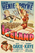 """Movie Posters:Musical, Iceland (20th Century Fox, 1942). One Sheet (27"""" X 41"""")...."""