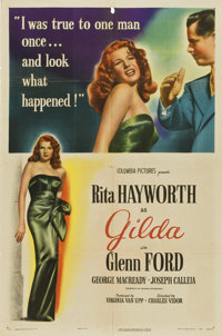 "Gilda (Columbia, 1946). One Sheet (27"" X 41"") Style A"