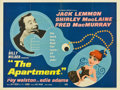 "Movie Posters:Academy Award Winner, The Apartment (United Artists, 1960). British Quad (30"" X 40"")...."