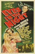"""Movie Posters:Mystery, Eyes in the Night (MGM, 1942). One Sheet (27"""" X 41"""")...."""