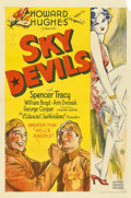 "Movie Posters:Comedy, Sky Devils (United Artists, 1932). One Sheet (27"" X 41"")...."