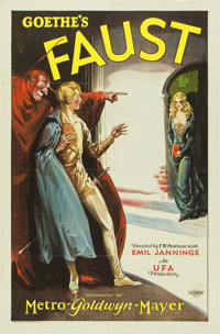 "Faust (MGM-UFA, 1926). One Sheet (27"" X 41"")"