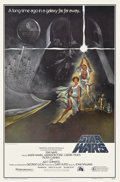 "Movie Posters:Science Fiction, Star Wars (20th Century Fox, 1977). One Sheet (27"" X 41"") StyleA...."