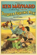 "Movie Posters:Western, Between Fighting Men (Sono Art-World Wide Pictures, 1932). OneSheet (27"" X 41"")...."