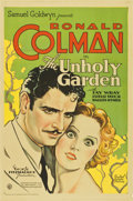 "Movie Posters:Romance, The Unholy Garden (United Artists, 1931). One Sheet (27"" X 41"")...."