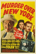 "Movie Posters:Mystery, Murder Over New York (20th Century Fox, 1940). One Sheet (27"" X41"")...."