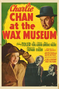 "Movie Posters:Mystery, Charlie Chan at the Wax Museum (20th Century Fox, 1940). One Sheet(27"" X 41"")...."