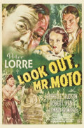 "Movie Posters:Mystery, Look Out, Mr. Moto (20th Century Fox, 1938). One Sheet (27"" X41"")...."