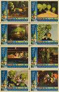 "Movie Posters:Science Fiction, Invasion of the Saucer-Men (American International, 1957). LobbyCard Set of 8 (11"" X 14"").... (Total: 8 Items)"