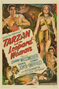 "Movie Posters:Adventure, Tarzan and the Leopard Woman (RKO, 1946). One Sheet (27"" X 41"")...."