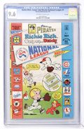 Bronze Age (1970-1979):Cartoon Character, Richie Rich, Casper and Wendy National League #1 File Copy (Harvey,1976) CGC NM+ 9.6 Off-white to white pages....