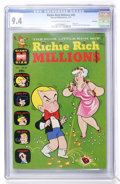 Bronze Age (1970-1979):Cartoon Character, Richie Rich Millions #45 File Copy (Harvey, 1971) CGC NM 9.4Off-white to white pages....