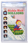 Bronze Age (1970-1979):Cartoon Character, Richie Rich Millions #46 File Copy (Harvey, 1971) CGC NM 9.4Off-white to white pages....